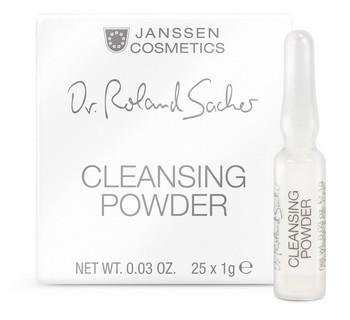 Janssen Cleansing powder (Очищающая пудра), 25 шт по 1 гр - купить, цена со скидкой